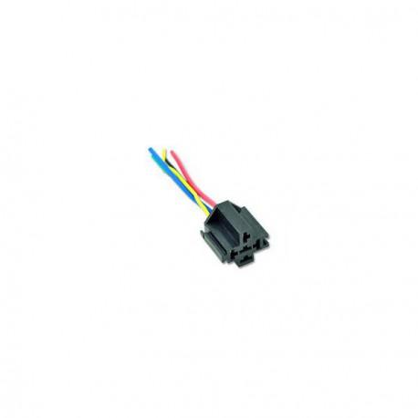 Relay socket for SPDT relay