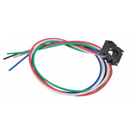 Relay socket for SPDT relay 12V., 15A.