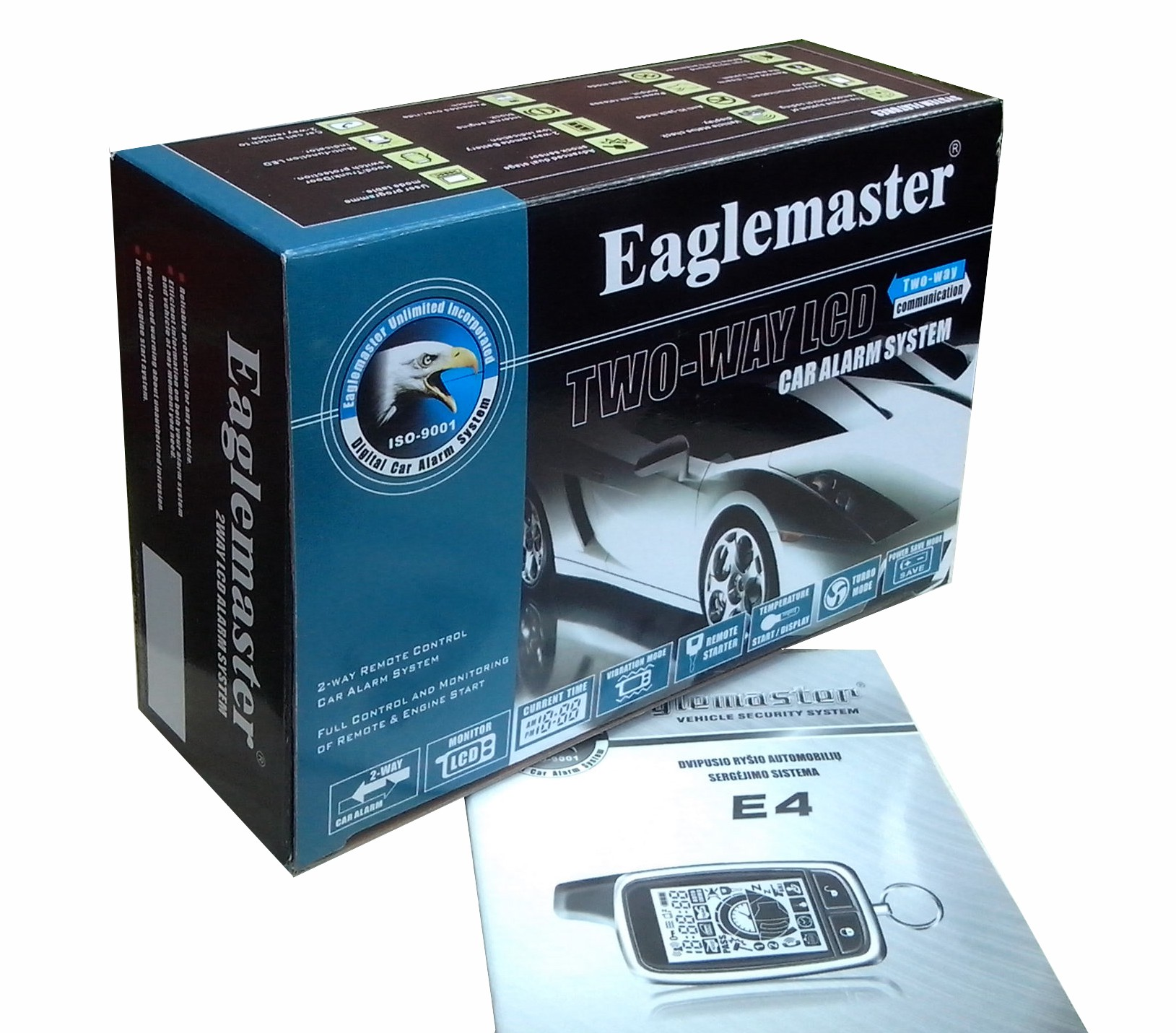 Two way car alarm Eaglemaster E4 G21