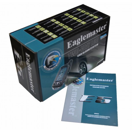 Two way car alarm system Eaglemaster E5