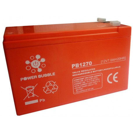 Battery POWER BUBBLE 7Ah 12V