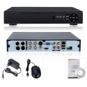 4 channels AHD and IP DVR D7004T