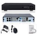 4 канальный AHD и IP видеорегистратор D7004