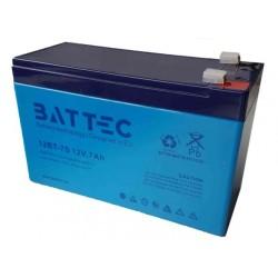 Аккумулятор BATTEC 12V, 7Ah